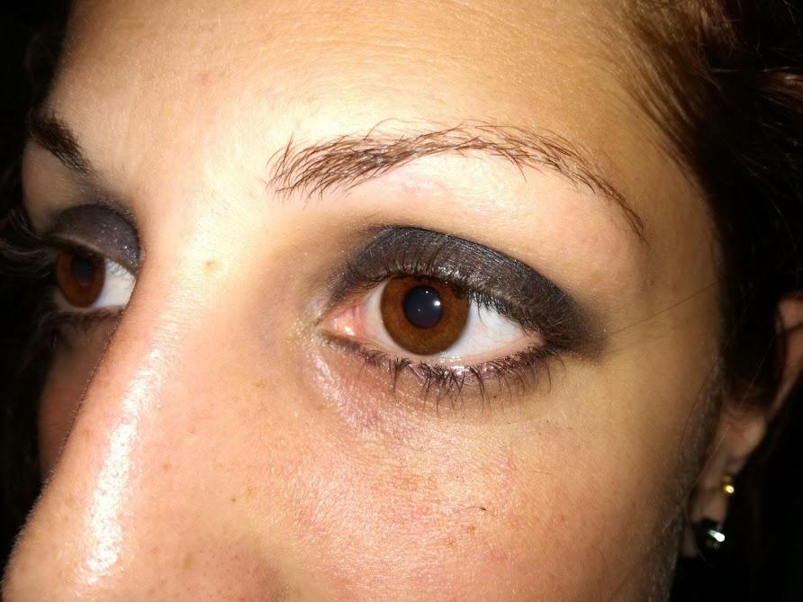 tutorial smokey eyes
