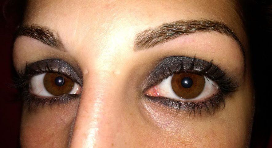 smokey eyes grigio