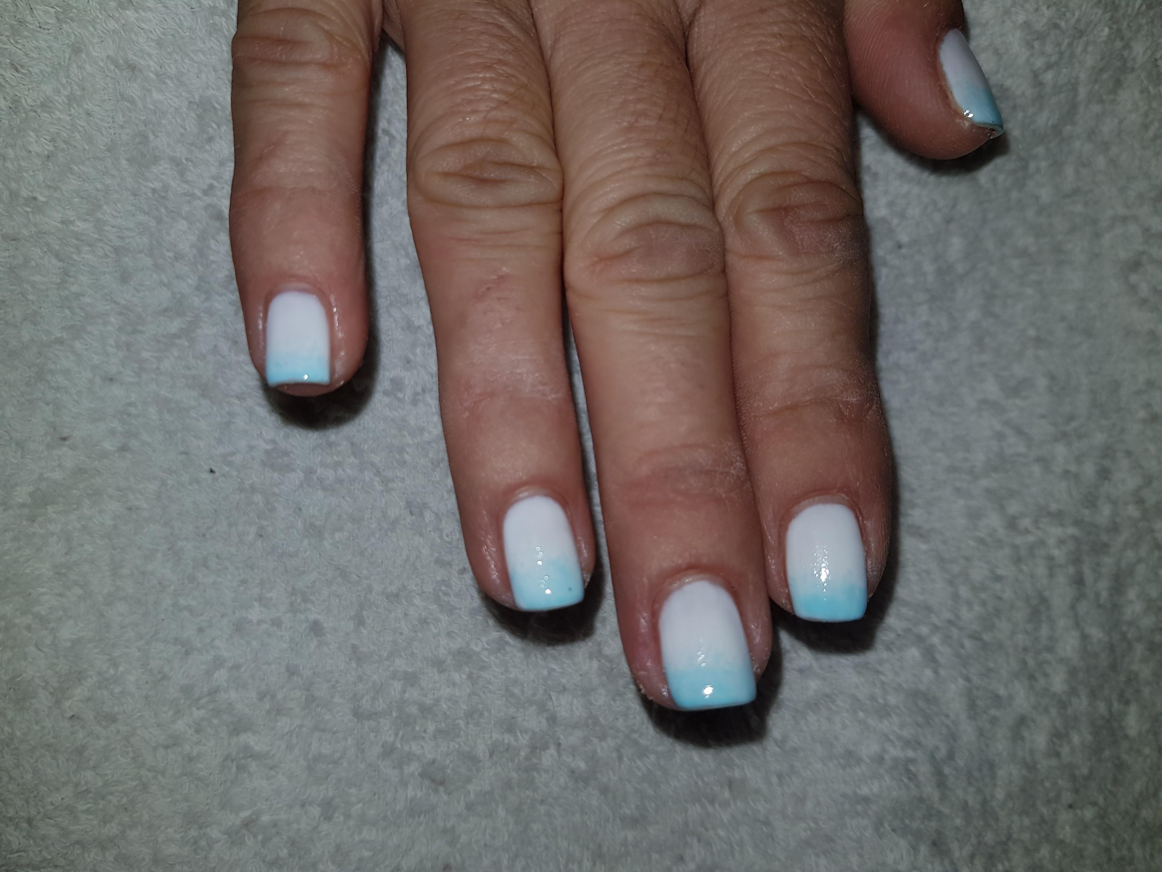 nail art sfumatura
