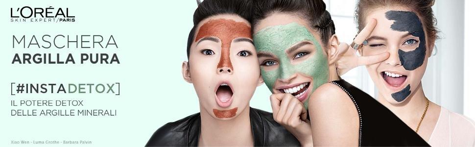 l'oreal maschere detox purificante