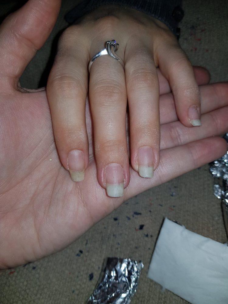 tutorial semipermanente nail art