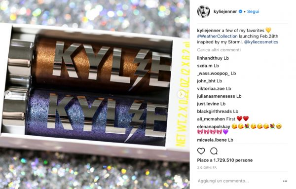 kylie jenner collezione