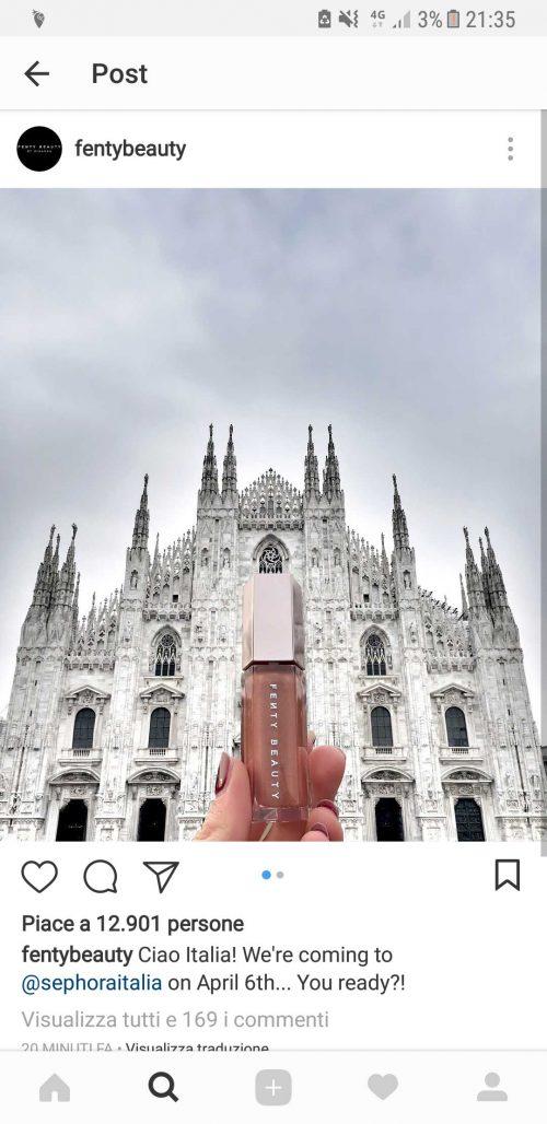 fendi beauty arriva in Italia