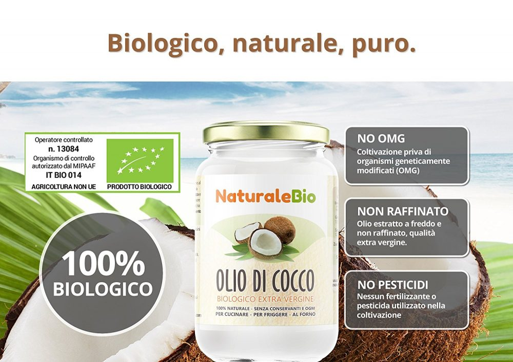 recensione olio di cocco