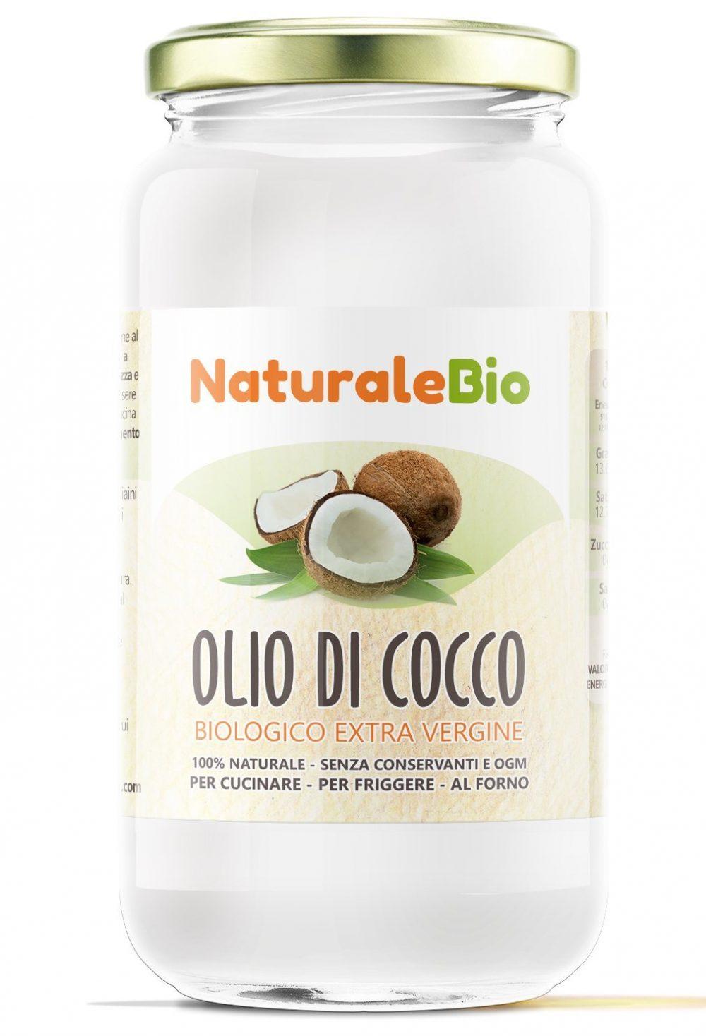 olio di cocco puro cura del corpo
