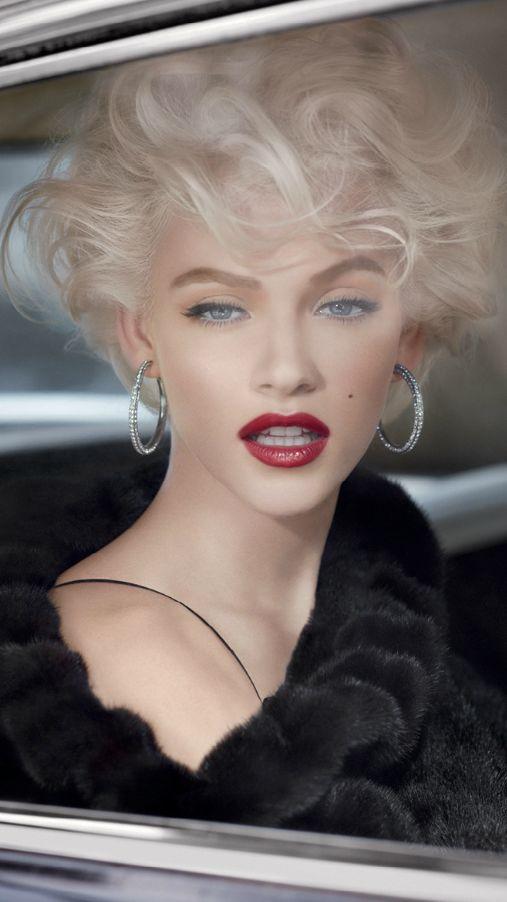 make up per chi ha I capelli biondi