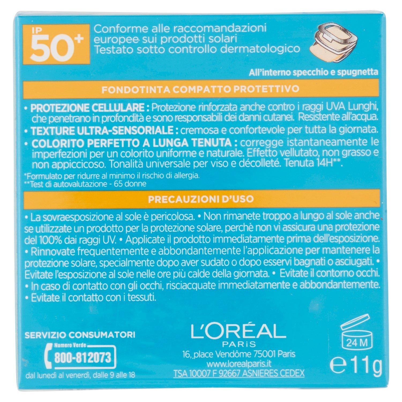 Tra le tante offerte che ogni giorno propone il web, oggi vorrei segnalarvi un prodotto adattissimo all'estate, il fondotinta compatto con protezione solare di L'Oréal.