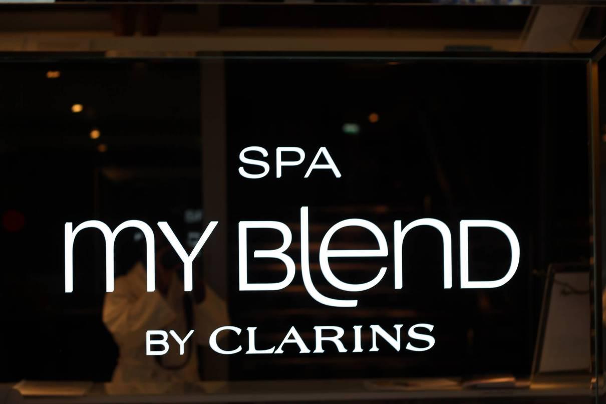 Clarins spa My Blend sardegna