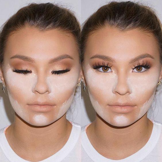come fare il bacino makeup