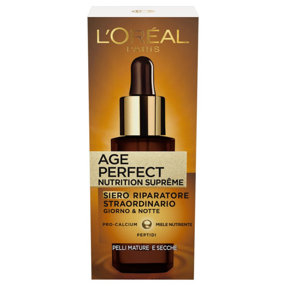 L'Oréal Paris Age Perfect Nutrition Supreme Siero Viso Antirughe Riparatore