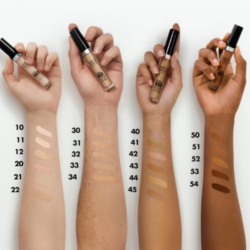 Make Up For Ever swatches