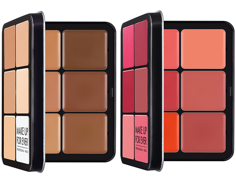 MAKE UP FOR EVER Ultra HD Invisible Cover Cream Foundation Palette