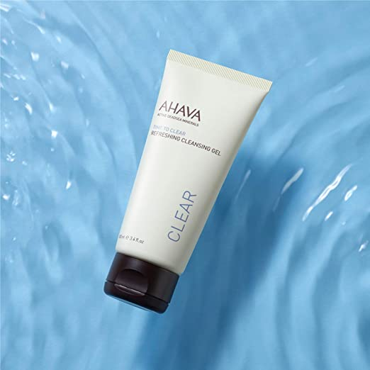 gel detergente Ahava Time to Clear Refreshing Cleansing Gel