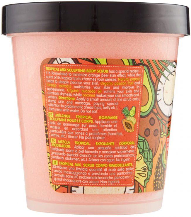 offerta Amazon Scrub corpo rimodellante Organic Shop