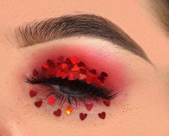make up idea s.valentino