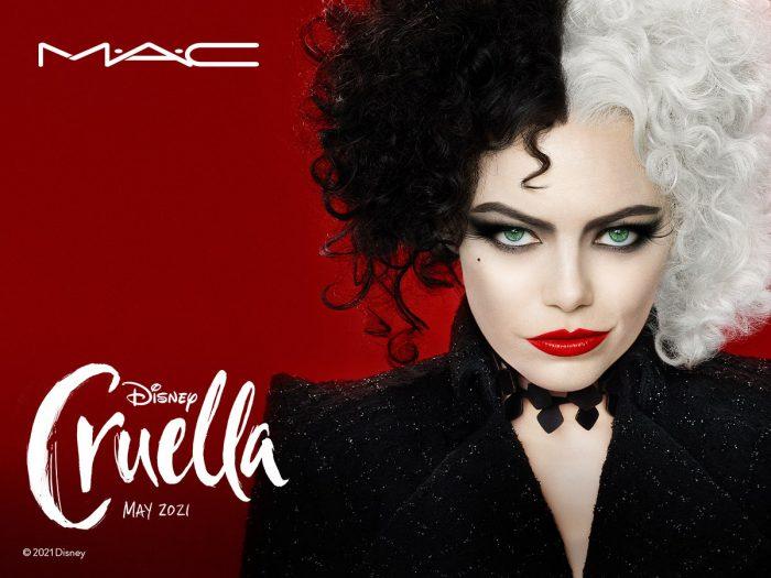 Ecco la nuova linea make up The Disney Cruella Collection by MAC!