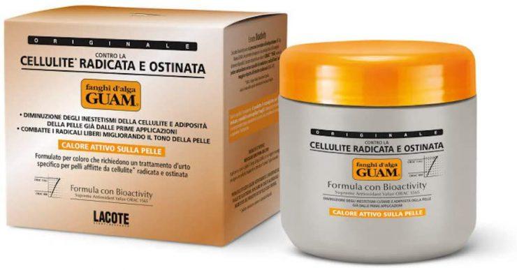 offerta Amazon fanghi d'alga anticellulite Guam