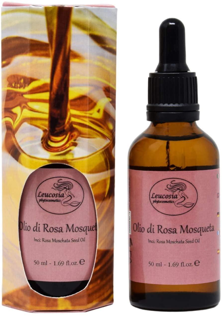 Offerte e promozioni: olio essenziale di Rosa Mosqueta 100% puro Leucosia Phytocosmetics