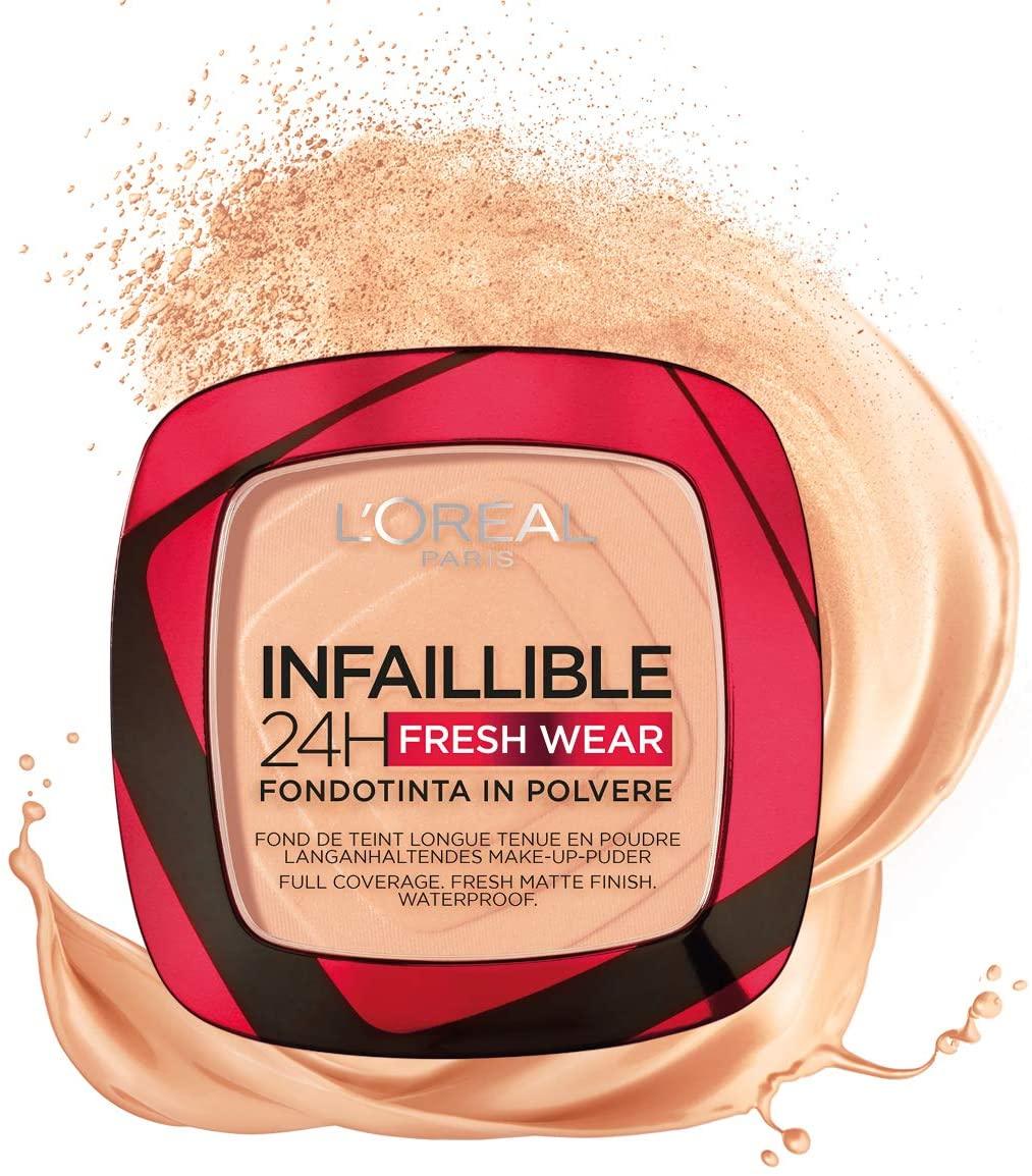 Offerte e promozioni: L'Oréal Paris Fondotinta Compatto Infaillible 24H Fresh Wear